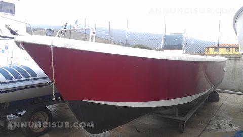 Vendo barca lancia in vetroresina x diving annunci sub for Barca lancia vetroresina